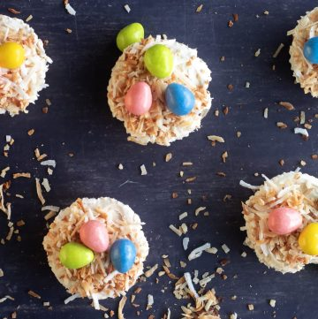 Easter mini cheesecake recipe low carb / keto