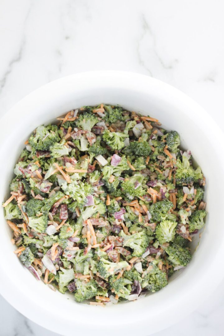 keto and low carb easy brunch salad recipe