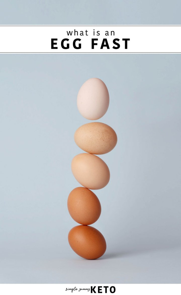 what is an egg fast, how it works and everything to know