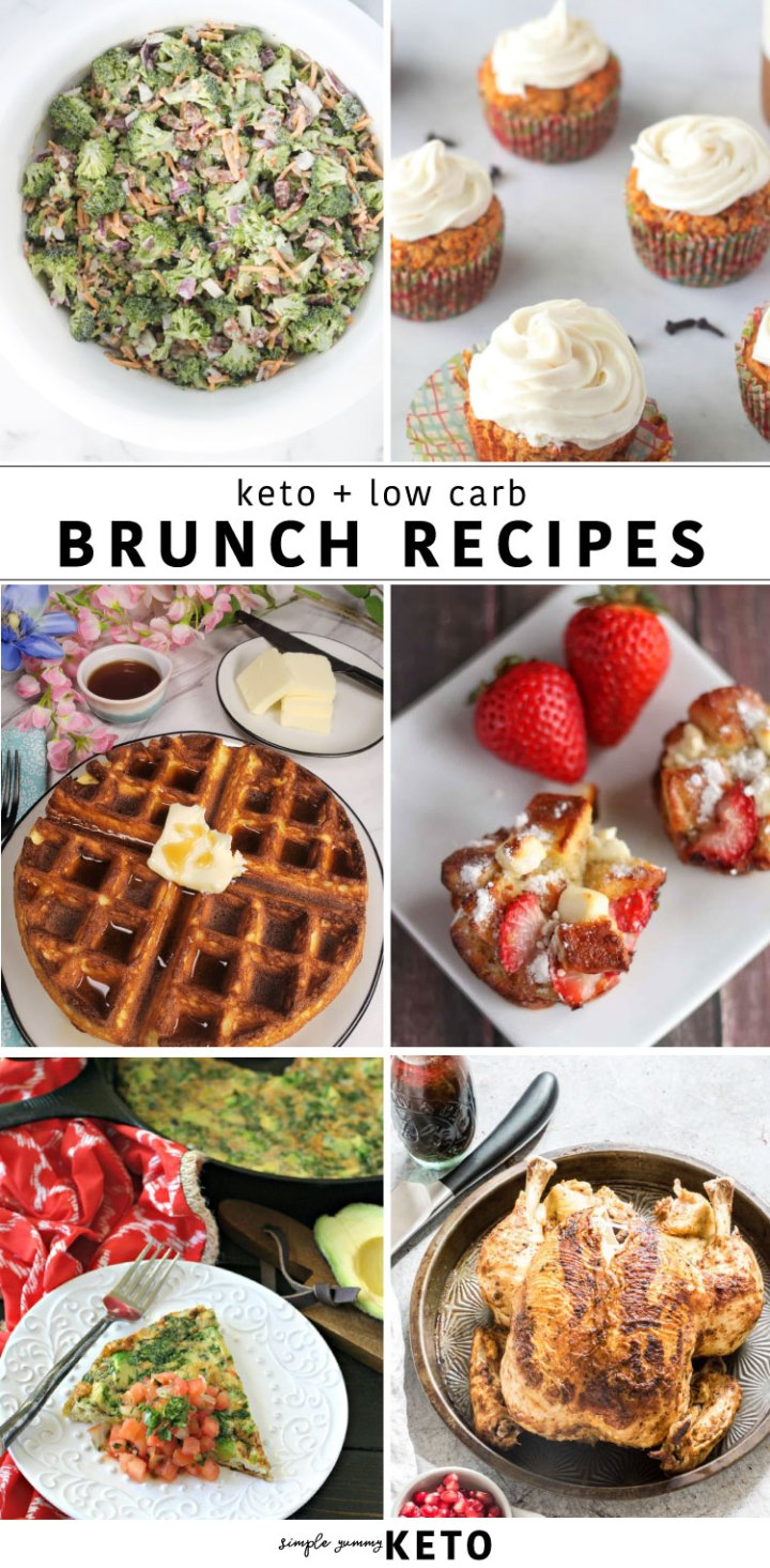 Keto and low carb brunch ideas for every occasion.