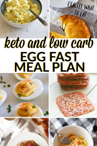 what to eat on an egg fast a five day keto egg fast meal plan