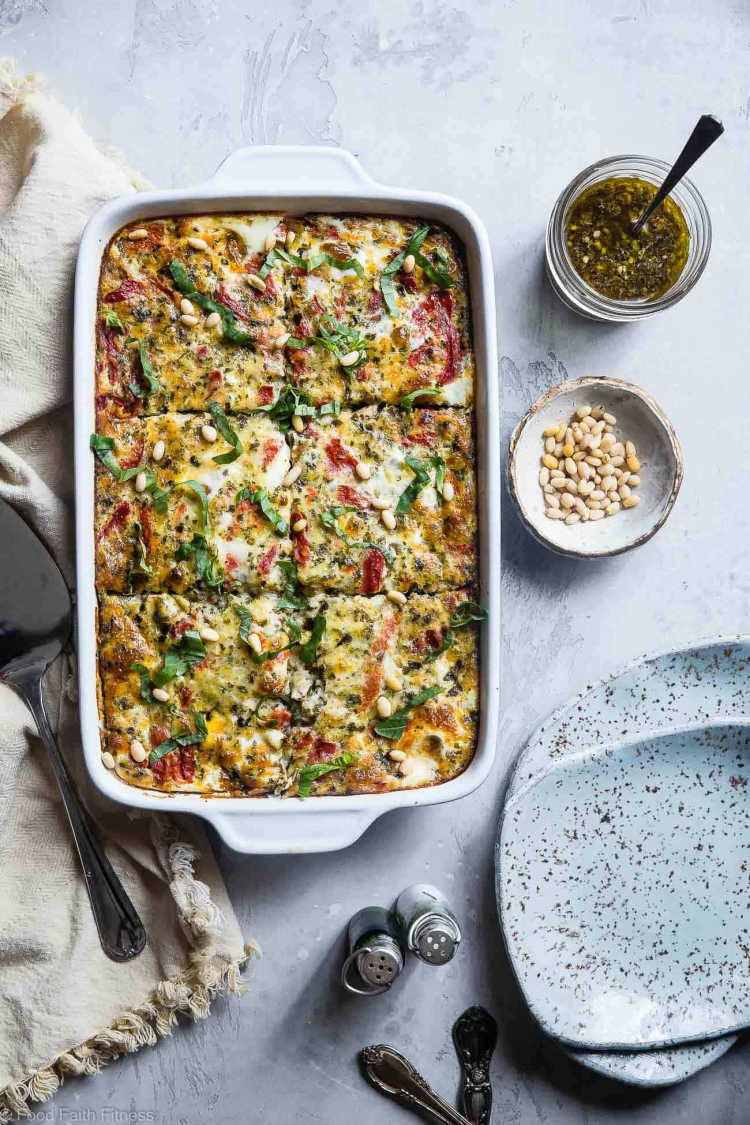 easy low carb breakfast casserole recipe
