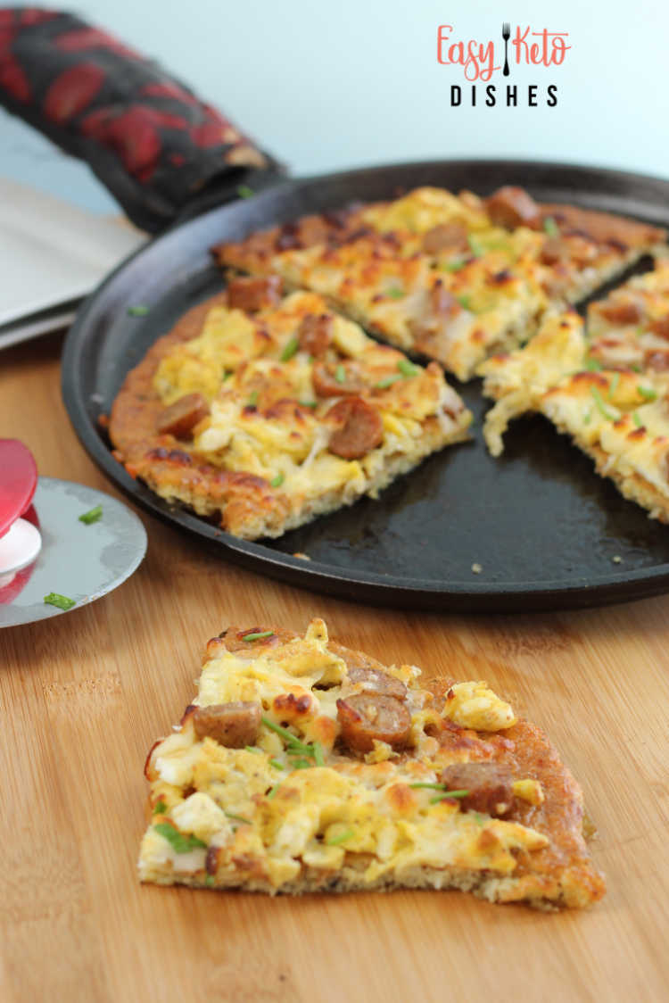 keto breakfast pizza recipe
