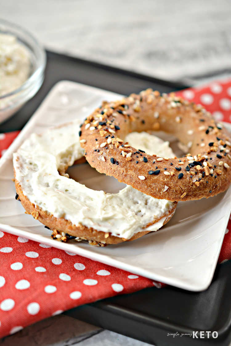 keto and low carb bagel recipe