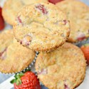 Strawberry Low Carb Muffins