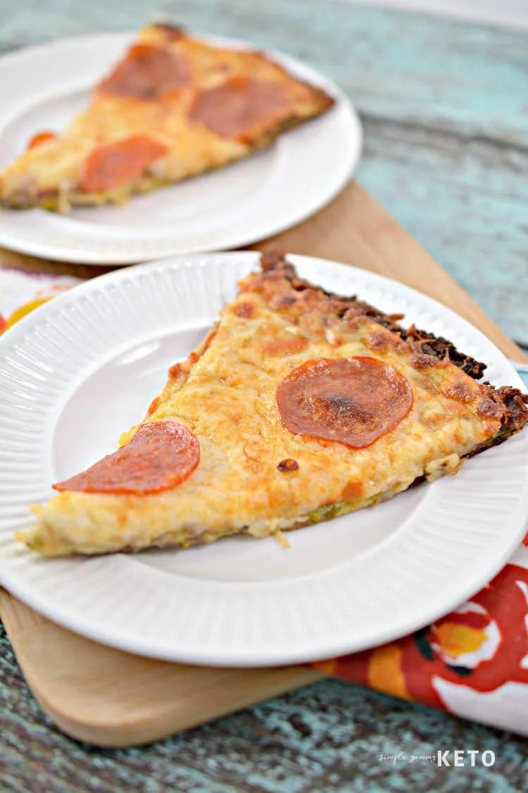 zucchini crust keto pizza recipe