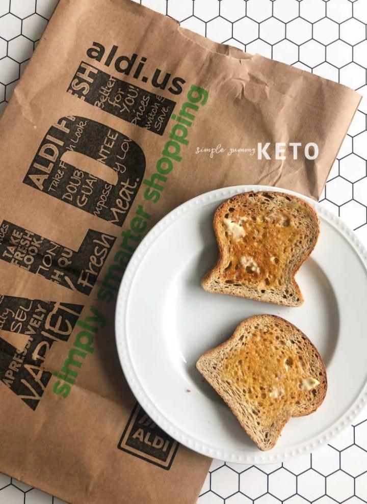 toasted keto bread