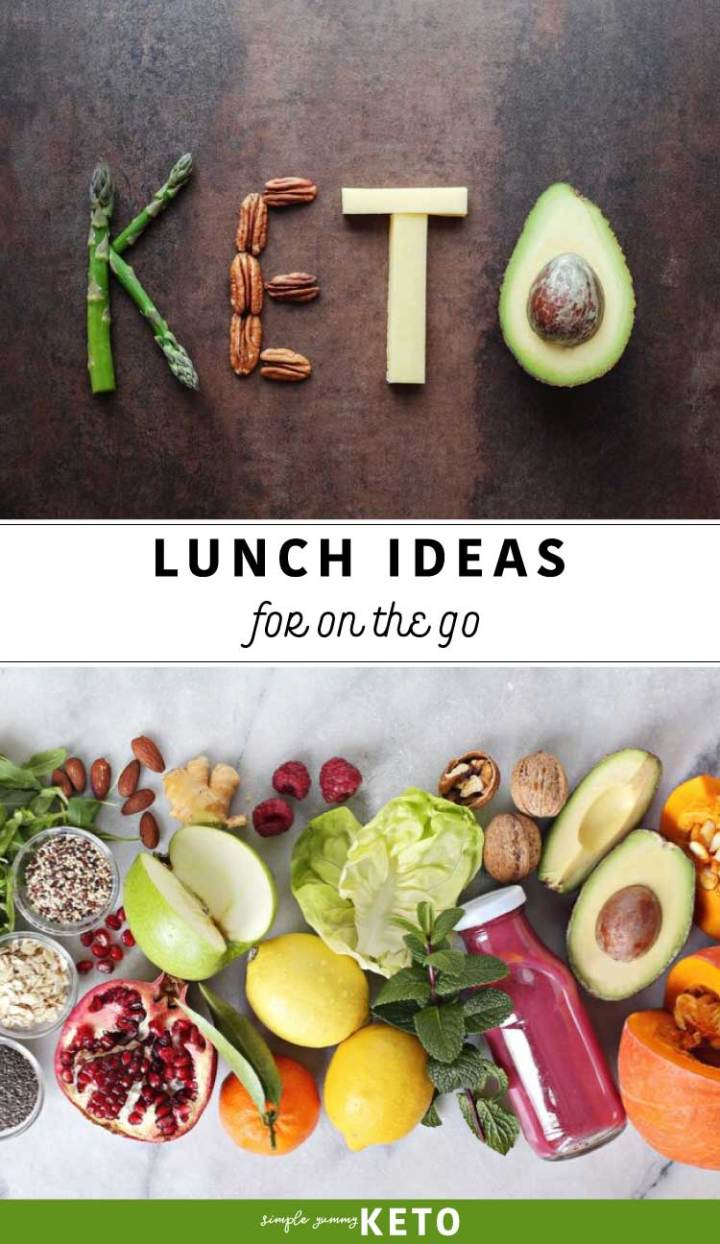 keto on the go lunch ideas to pack