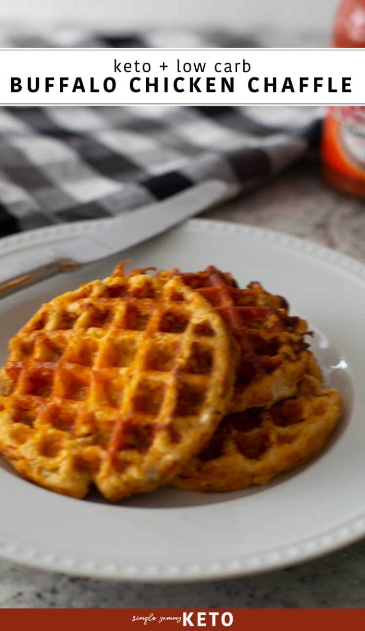buffalo chicken chaffle recipe