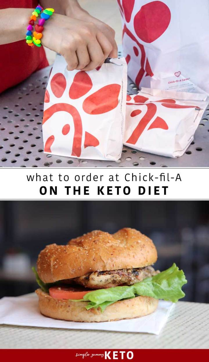 What to order at Chick-fil-A on the Keto diet. What you can eat at Chick-fil-A on a Keto and low carb diet