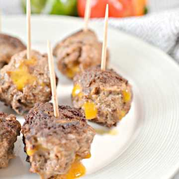 keto stuffed taco meatballs recipe
