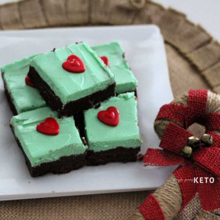 Keto mint fudge recipe