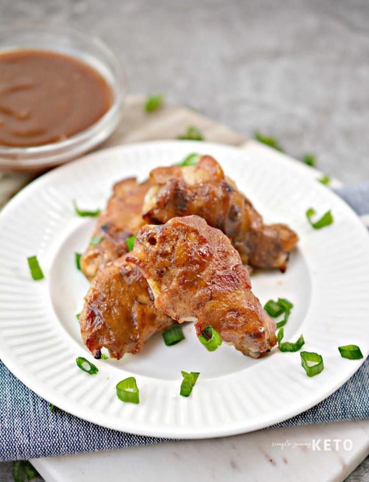 bbq chicken wings keto