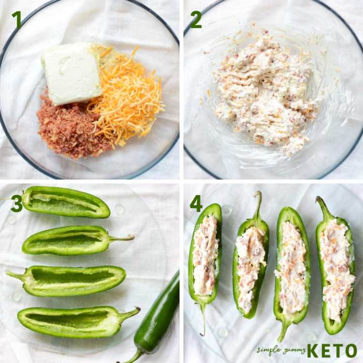 how to make stuffed jalapeños