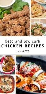 keto chicken recipes - easy keto chicken recipes to make
