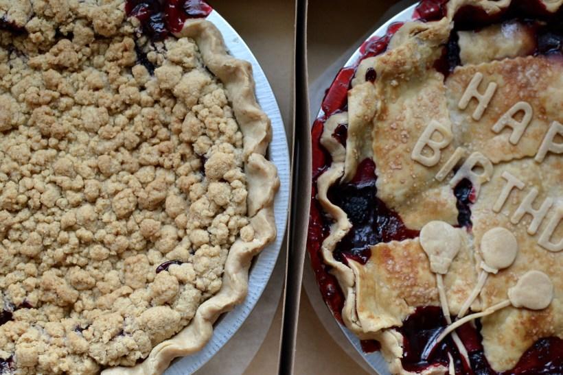 local organic pies - gluten free - pnw