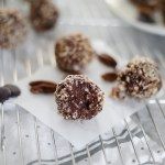 Boost progesterone with these delicious seed cycle balls | tahini, molasses & my favorite brand GoRaw sunflower seeds