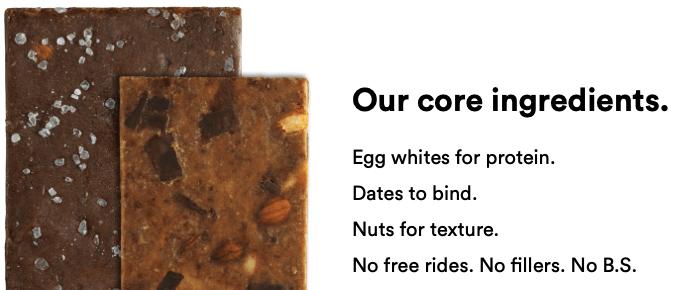 RX Bars, natural flavors, false labeling