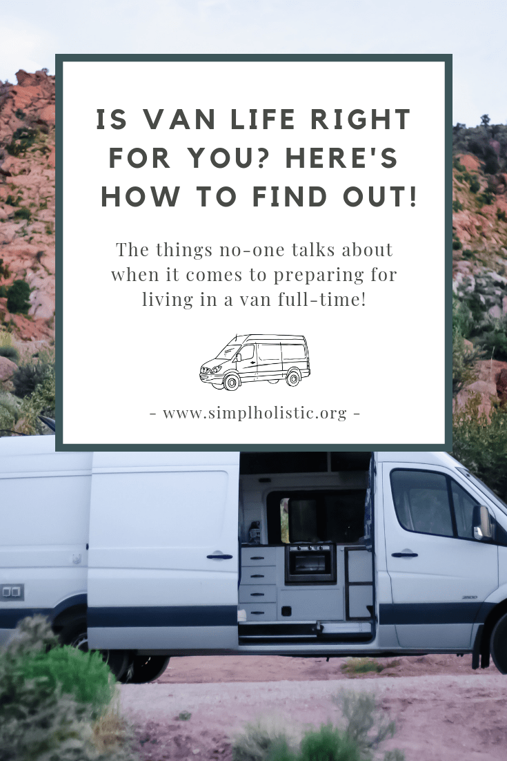 How to prepare for van life