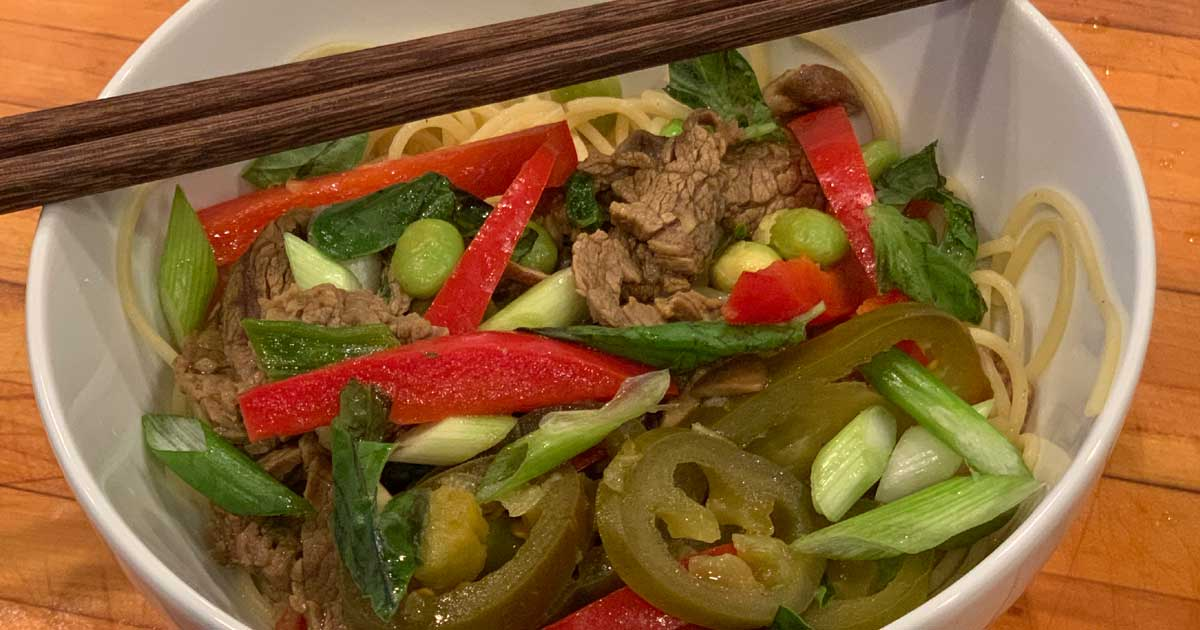 Read more about the article Thai Curry Beef Bowl