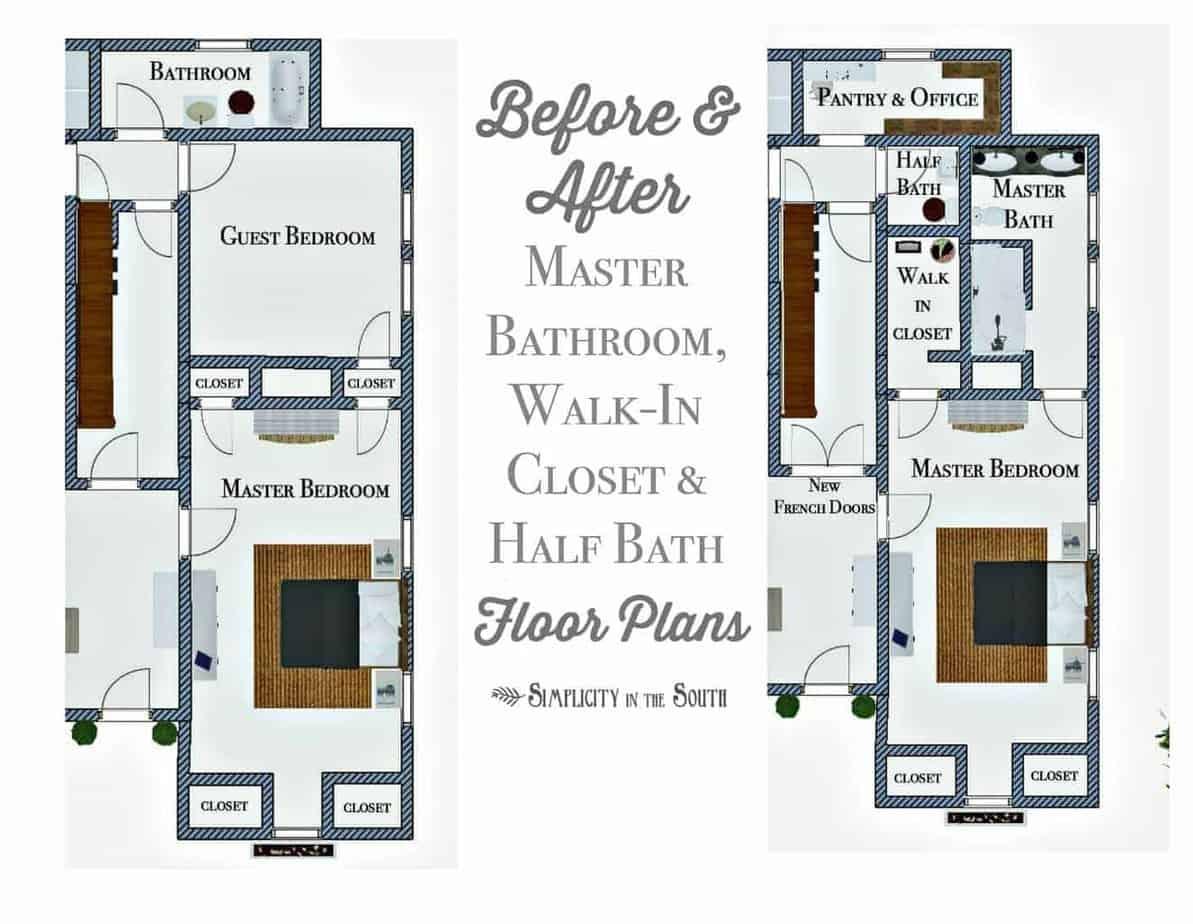 So Long, Spare Bedroom...Hello, Master Bathroom, Walk-in
