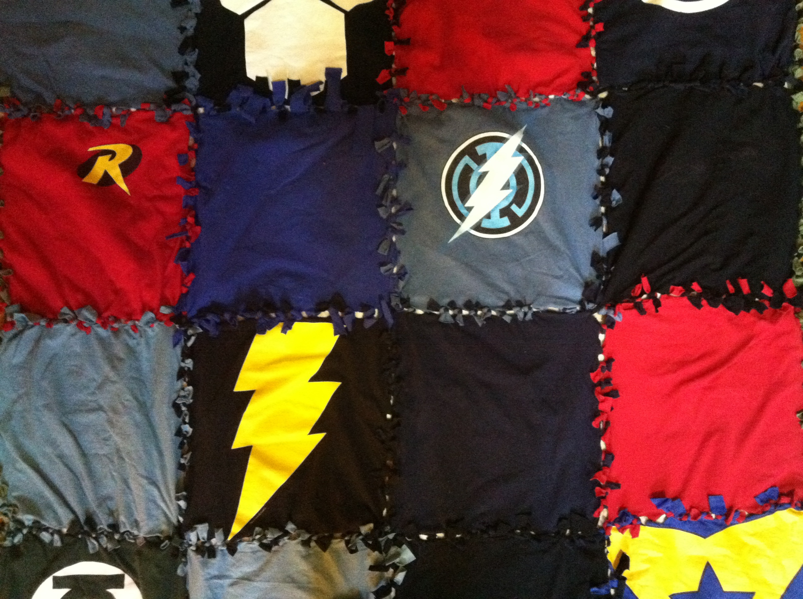 T Shirt Blanket No Sew