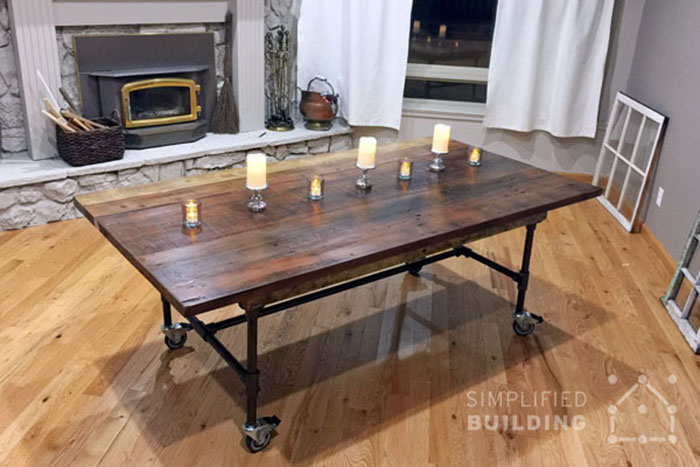10 diy dining tables to build with tube