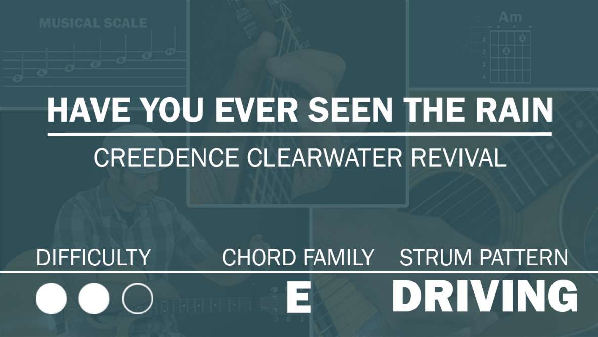 creedence clearwater revival have you ver seen the rain
