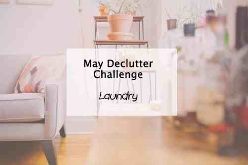 Simplify My Life May Declutter Laundry