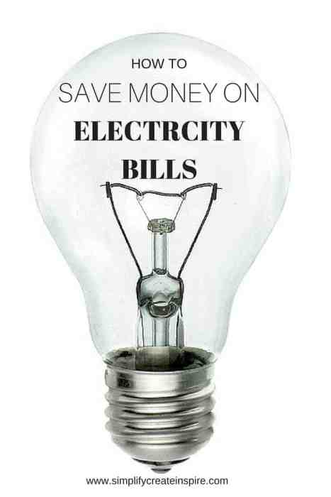save money on electricity bills