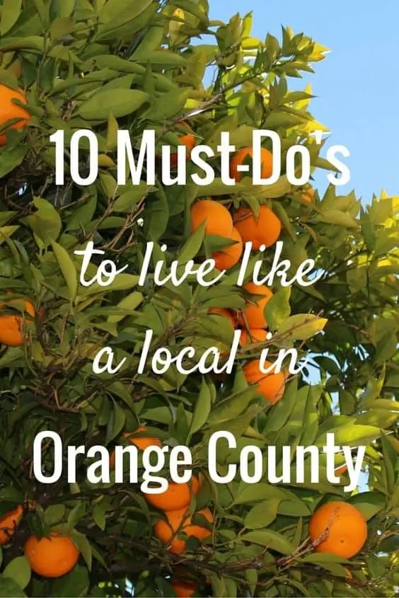 local things to do in orange county