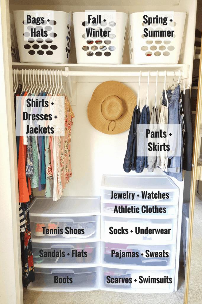 5 Simple Steps To Organizing A Postpartum Closet   Simplifying Mom Life