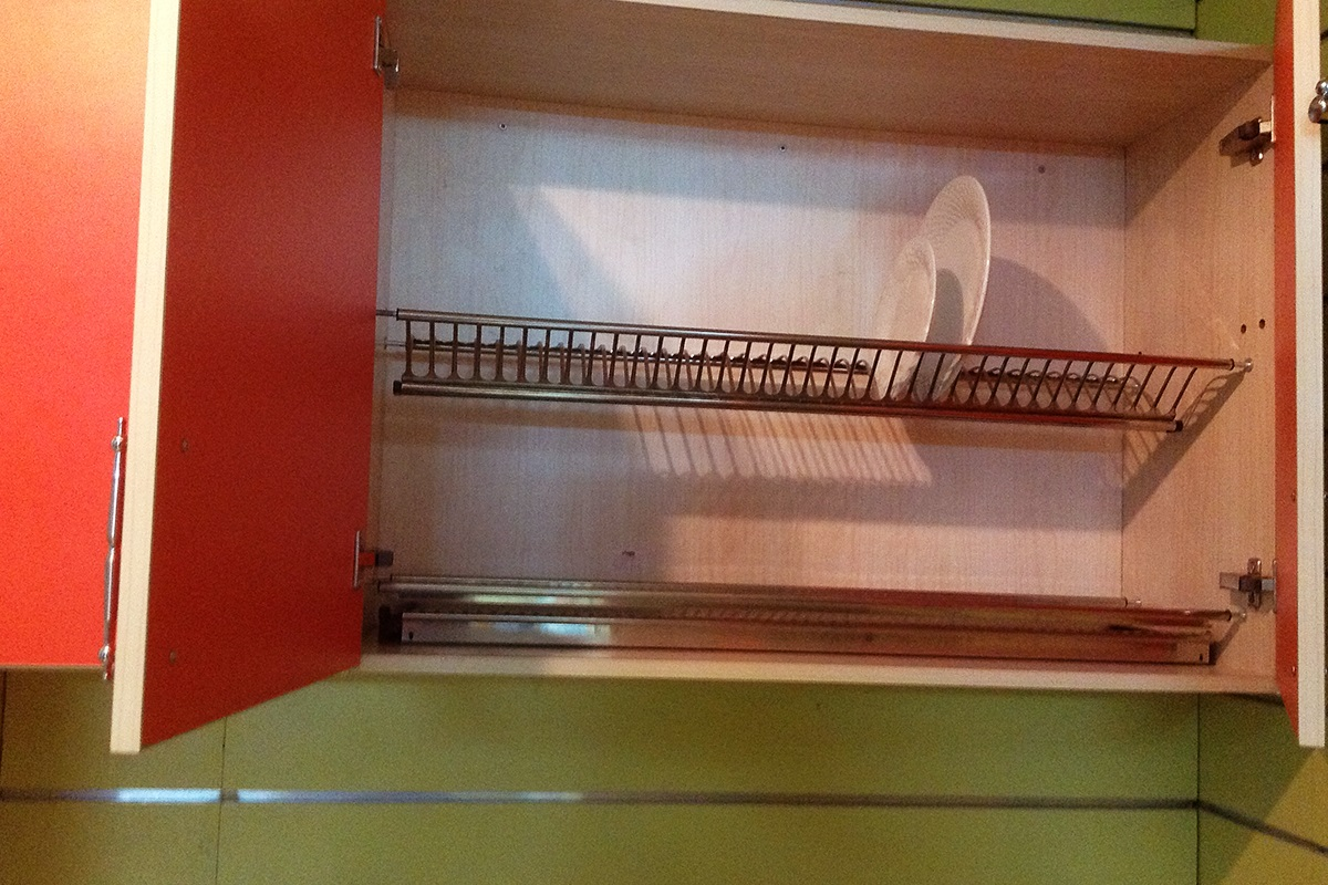 buy kitchen cabinet with plate holder