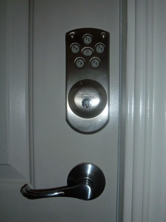 Keyless Door Interior Lock
