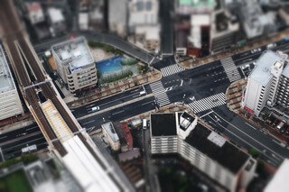 traficul văzut de sus