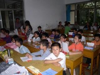 elevi în clasă