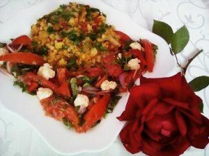 Mâncarea de linte roșie