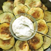 Zucchini prajiti (kolokythákia)