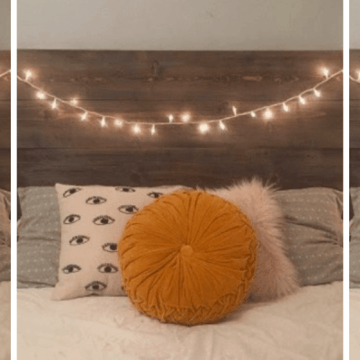 12 Insanely Cute Dorm Bed Headboards I'm Currently Obsessed With
