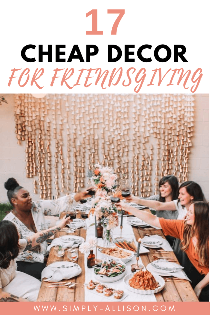 Friendsgiving decor ideas