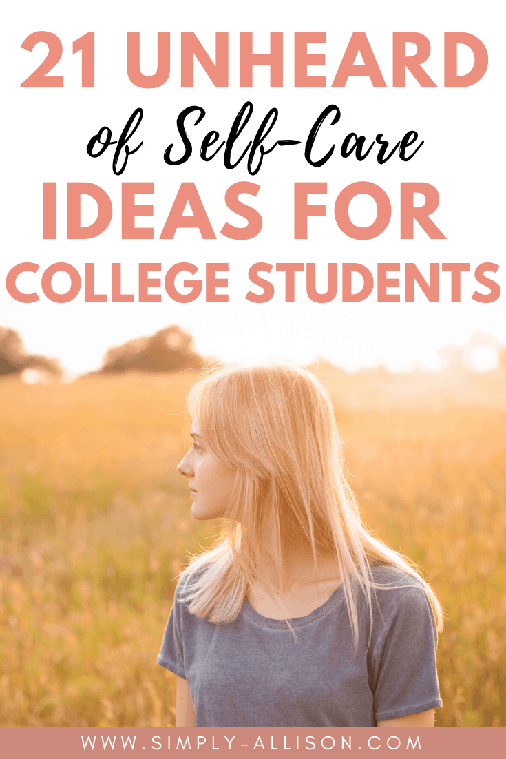 self care for students