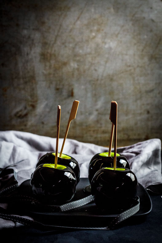 Poison Toffee Apples - Simply Delicious
