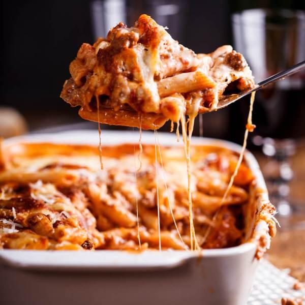 Bolognese pasta bake Simply Delicious