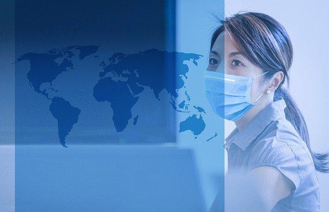 pandemic map