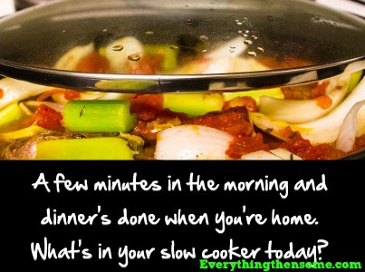 Benefits to Using a Slow Cooker