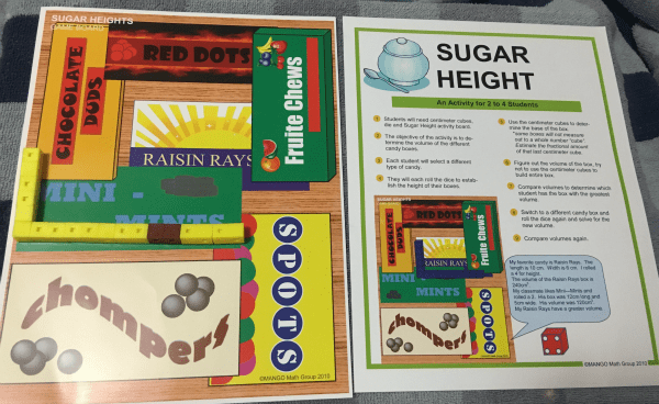 Mango Math-Sugar Height