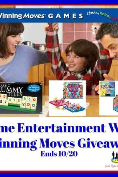 Welcome to the Home Entertainment With Winning Moves Giveaway Ends 10/20
