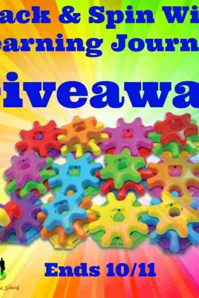 Welcome to the Stack & Spin With The Learning Journey Giveaway Ends 10/11