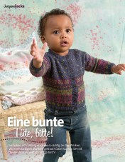 Strickanleitung Baby Strickjacke Lang Yarns Style Edition 0216