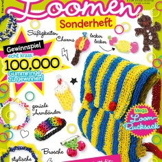 Kids Kreativ Loomen Sonderheft 01/14 Titel